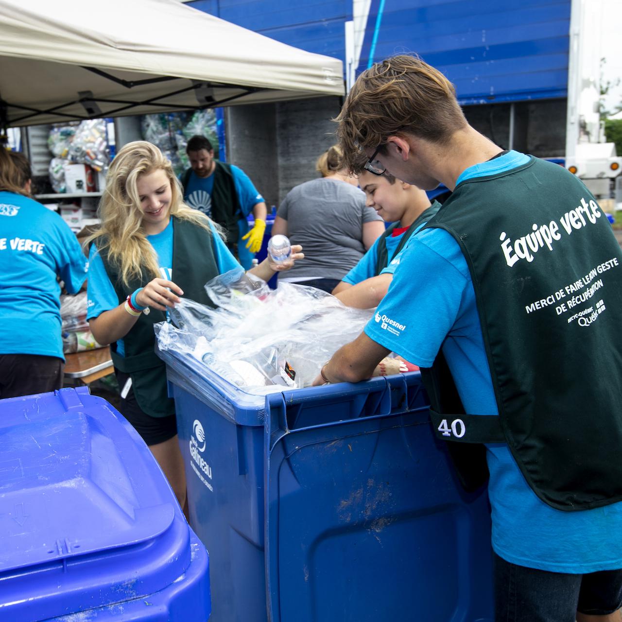Le Festival de montgolfières de Gatineau — Initiatives écoresponsables au FMG
